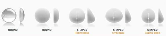 shaped pics Pear breast